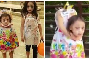 Soán ngôi 'Chung Vô Diệm Đài Loan', cô bé hóa trang không đầu ở Philippines 'chiếm sóng' mùa Halloween