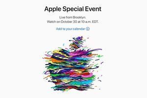 Sự kiện ra mắt iPad Pro, MacBook mới của Apple