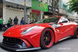 Ferrari F12berlinetta độ bodykit Duke Dynamics cực độc 'thả dáng' trên đường phố Sài Gòn
