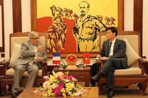Pháp thúc đẩy tăng cường hợp hợp tác với Việt Nam trong lĩnh vực GTVT