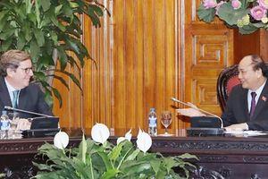 Chúng tôi luôn coi trọng hợp tác giữa Quốc hội Việt Nam và Nghị viện châu Âu