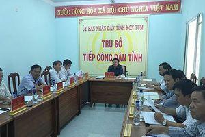 35 địa phương chưa công bố lịch tiếp công dân của Chủ tịch tỉnh