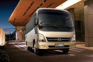 Ảnh chi tiết Hyundai New County giá từ 1,395 tỷ đồng