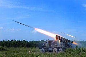 Quân đoàn 4: Diễn tập chiến thuật bắn đạn thật quy mô lớn