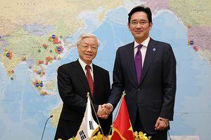 'Thái tử' Samsung thăm Việt Nam