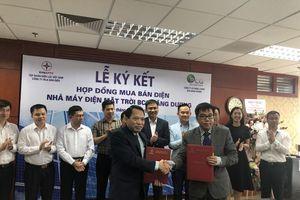 Năng lượng BCG Băng Dương ký hợp đồng mua bán điện với EVN