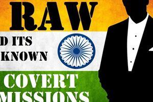 Những hoạt động bí mật của Tình báo Ấn Độ ở nước ngoài