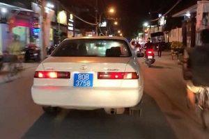 Lộ 'thân thế' người đàn ông lái ô tô biển xanh 80B giả bật hú còi ưu tiên, gây náo loạn phố Sài Gòn
