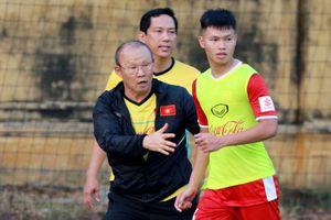 HLV Park Hang Seo 'trảm' 5 cầu thủ đầu tiên