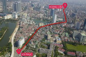 Toàn cảnh tuyến đường 2,2km 'đắt nhất hành tinh' ở Thủ đô