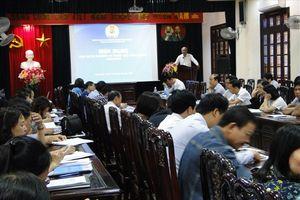 Công đoàn Y tế tỉnh Thái Bình triển khai Nghị quyết ĐH XII CĐVN