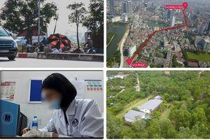 Tin tức Hà Nội 24h: Thời gian hoàn thành cưỡng chế các công trình xẻ thịt đất rừng Sóc Sơn?