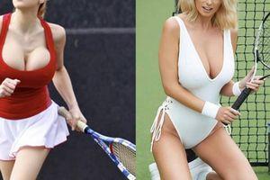 Những trang phục tennis siêu gợi cảm khiến khán giả phải đỏ mặt