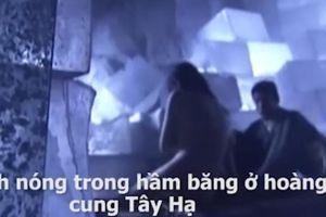 Clip: Loạt 'cảnh nóng' toát mồ hôi trong phim kiếm hiệp Kim Dung