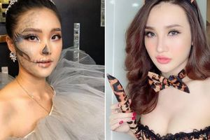 Halloween nhiều gái trẻ Việt hóa quỷ nữ sexy khó ai không ngoái nhìn