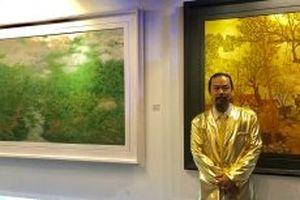 'Miền cổ tích' và cuộc chơi sơn mài của Nguyễn Quốc Huy