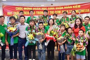 Học sinh Việt Nam vô địch cuộc thi 'Thử thách nhà toán học tương lai'
