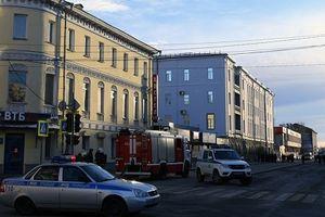 Nổ lớn trước Cơ quan An ninh Liên bang Nga, 4 người thương vong