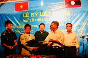 Thắt chặt quan hệ đoàn kết hai bên biên giới Kon Tum - Sê Kông
