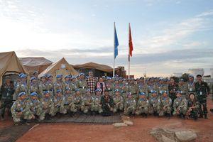 Lực lượng gìn giữ hòa bình Việt Nam tiếp nhận bệnh viện dã chiến tại Nam Sudan