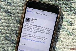 Apple trình làng iOS 12.1 với loạt cải tiến mới