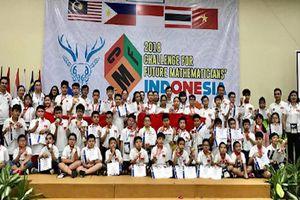 Việt Nam giành 7 huy chương vàng ở cuộc thi Thử thách nhà toán học tương lai