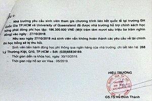 ĐH Bách khoa TPHCM bị giả mạo con dấu, chữ ký để lừa đảo