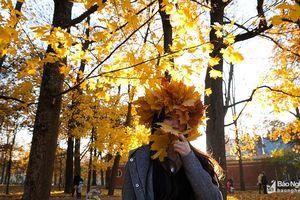 Vẻ đẹp nao lòng mùa thu nước Nga trong mắt du học sinh xứ Nghệ