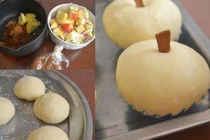 Khéo tay làm bánh mì táo cực dễ thương, thơm ngon, tiện lợi