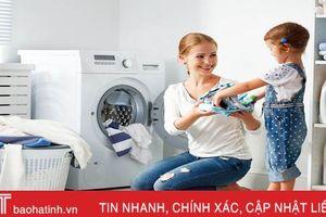 Bạn cần biết: Dùng máy giặt sai cách, tốn tiền và nhanh hư