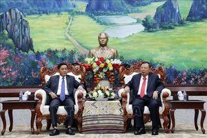 Lãnh đạo Lào đánh giá cao kết quả hợp tác giữa hai Cơ quan Kiểm tra Đảng