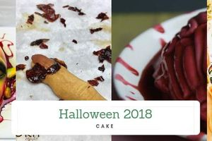 Halloween 2018: Những món bánh kinh dị, nhìn đã rụng rời chân tay