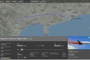 Máy bay Vietjet hạ cánh khẩn cấp ở Hồng Kông vì lí do kĩ thuật