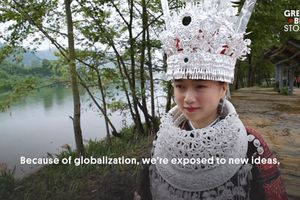 Trung Quốc: Nơi cô dâu đeo 13kg đồ trang sức bằng bạc