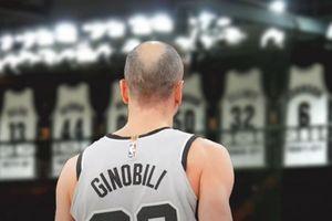 Spurs treo áo Manu Ginobili, vinh danh một tượng đài