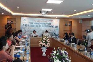 Cơ hội và thách thức với xuất khẩu gỗ của Việt Nam