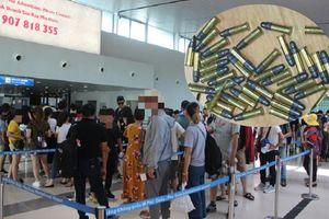 Phát hiện trong hành lý của hành khách có 3 đầu đạn nguyên ngòi ở sân bay