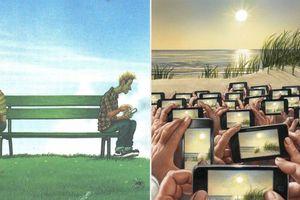 13 bức tranh châm biếm thâm thúy hiện thực cuộc sống, bạn có hiểu hết ý nghĩa của chúng?
