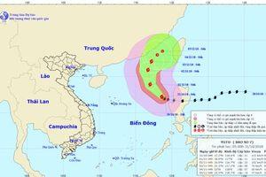 Bão số 7 đổi hướng, Việt Nam ít bị ảnh hưởng