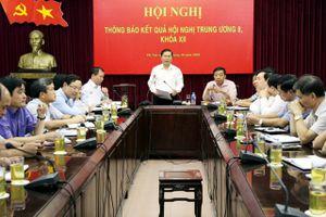 Đảng ủy Bộ LĐ-TB&XH tổ chức Hội nghị thông báo kết quả Hội nghị Trung ương 8 khóa XII