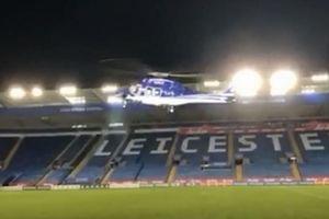 Công bố đoạn video khoảnh khắc chiếc trực thăng chở cố chủ tịch CLB Leicester City rơi
