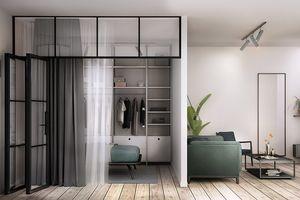 Căn hộ 46 m2 có cách phân chia không gian hợp lý