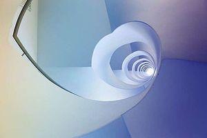 Choáng ngợp kiến trúc cầu thang xoắn ốc tuyệt đẹp