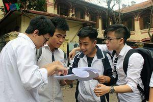 Hà Nội công bố đề thi tham khảo vào lớp 10 năm 2019