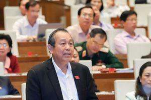 Phó Thủ tướng Trương Hòa Bình nói về vấn đề từ chức