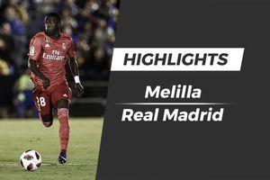 Highlights Sao trẻ 18 tuổi ghi dấu ấn, Real thắng Melilla 4-0