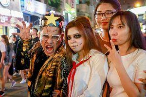 Phố Tây Bùi Viện ngập tràn 'ma quỷ' ngày Halloween