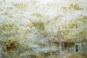 Lạc vào 'Miền cổ tích' của họa sĩ Nguyễn Quốc Huy