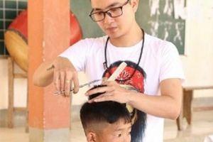 Chàng trai 9x và hành trình cắt tóc miễn phí cho đồng bào vùng cao