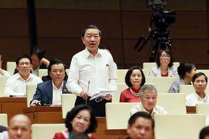 Bộ trưởng Tô Lâm: Thu thập chứng cứ bôi nhọ, xuyên tạc trên mạng